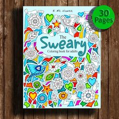 A personal favourite from my Etsy shop https://www.etsy.com/listing/264864684/sweary-coloring-book-page-swear-words