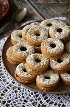 Cookie Box, Polish Recipes, How Sweet Eats, Bagel, Gluten Free Recipes, Doughnut, Christmas Cookies, Good Food, Food And Drink