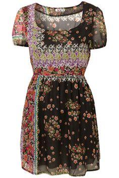 Floral Gypsy Dress by Wal G**