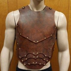 Leather Armor Sentinel 2 Chest & Back