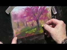 A Quick Plein Air Demo in Pastel - YouTube