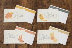 Lunchbox Notes >> Cute Critters -