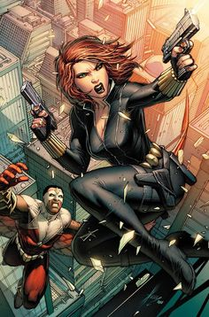 Black Widow by Dale Keown.
