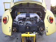 Volks-Swap :: Conversion Pictures :: 67' Bug w/Subaru 3.3L H6