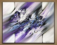 Abstract painting / Wall art / Contemporary abstract / Modern art / Youtube painting / Ray Grimes / 16x20