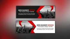 Web Banner Ads Design Tutorial in Photoshop CC Shop Banner Design, Real Estate Banner, Banner Online, Promotional Banners, Social Media Banner, Graphic Design Tutorials, Ad Design, Ads Banner, Airplane Banner