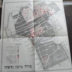 WARSAW GHETTO UPRISING MAP ISRAEL