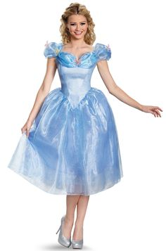 Live out your fairytale fantasy with this beautiful Cinderella costume…