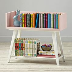 Storage meets functionality in your playroom or kids' room with Crate and Barrel's stylish kids bookshelves, bookcases and toy boxes. Baby Furniture, Home Decor Furniture, Furniture Projects, Furniture Making, Diy Deco Rangement, Bookshelves Kids, Kids Storage, Book Storage Kids, Girl Room