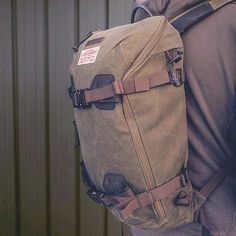 Burton AK backpack variation - a colab with Filson. AK line designed with the…