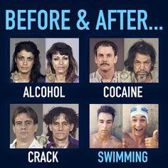 it's good to be a swim junkie