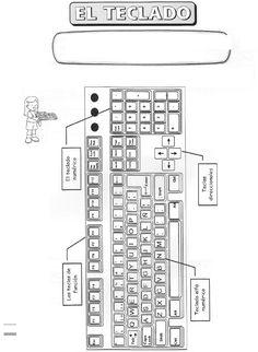 Dibujos de Computadoras para Colorear e Imprimir