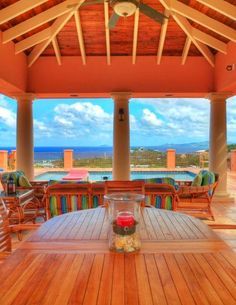 Soft island wood tones at La Mer Caribe.  For more #StCroix #vacationrentals go to:  http://villamargarita.com/st-croix-vacation-rentals/  #villamargarita #StCroixRealEstate #USVirginIslands #USVI #dreamhomes #STX #caribbean #USVIproperty #stx #virginislands #beachfronthomes #villas #stcroixbeaches #travel #holiday #StCroixVillas
