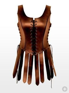 Female Gladiator Leather Armour from maskworld.com