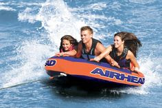 2 Person Kayak Costco >> Air Head AHFN-12 FUSION 2 Inflatable Towable- 3 Person | Decking