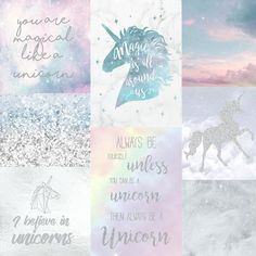 Arthouse Wallpaper | Believe In Unicorns | 698300