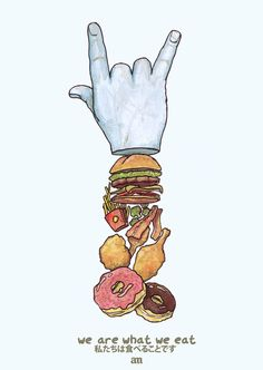 We Are What We Eat – Les illustrations culinaires d'Alejo Malia
