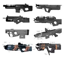 Weapon Concept Art James Ellis #concept #art #creative #conceptart #reference #draw #sketch #speedpainting #digital #painting #speedpaint #paint #how to #tutorial #weapon #gun #future