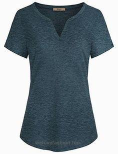For Work,Miusey Womens V Neck Short Sleeve Casual Cotton Loose Fit Henley T Shirt Tunic Blouses Tops Green X-Large BUY NOW     $49.99     Miusey's main products are tshirts, shirts, hoodie, coats, jackets, blazers, cardigans, sweaters, suits and accessories for women.Most of our items are produced to c ..