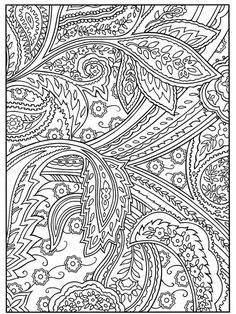Paisley to color