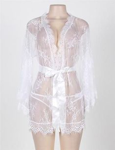 Women Erotic Sexy Lingerie Glam Full Of Lace Boudoir Transparent Nightwear See Through Bridal Sleepwear Item specifics Gender: Women Item Type: Baby Dolls Special Use: Exotic Apparel Pattern Type: Solid Material: Fabric Type: Lace Special Use: Exotic Appa Sheer Lingerie, Pretty Lingerie, Bridal Lingerie, Luxury Lingerie, Lingerie Set, Designer Lingerie, Black Lingerie, Victoria Secret, Feminine Fashion