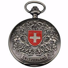 Today Sale $11.56, Buy Retro Bronze Tone Color White Dial Cool Cross Logo Flag Craft Hunter Men Women Round Quartz Pocket Watch Gift Long Chain /WPK048