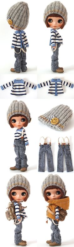 ** Blythe outfit ** Lucalily 323**の画像:mahounote.