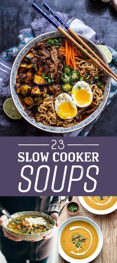23 slow cooker soup recipes