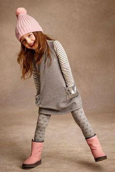 Pequeña Fashionista: Especial tendencias: Combina con gris y acertarás