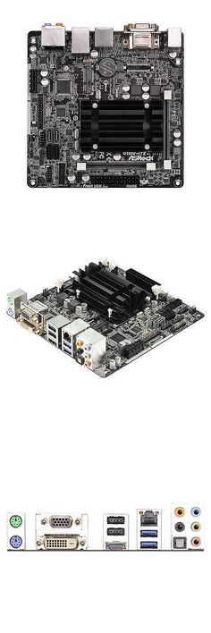 computer parts: Asrock Q1900-Itx Ddr3 Pc Motherboard With Intel J1900 2.0Ghz Cpu Processor Combo BUY IT NOW ONLY: $84.28