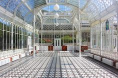Armatile manufactured the beautiful new floor for the historically sensitive restoration on the Grade II Listed Conservatory at The Horniman Museum, London (#ManufacturedByArmatile)