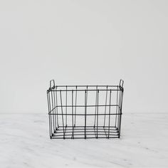 A wire basket is always helpful for organizing the kitchen, bathroom, closet or office. 10.75″ L x 8″ W x 7″ H Material:Iron Made in India