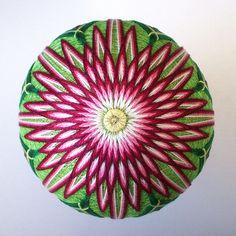 temari ball made of thread