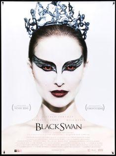 The Black Swan, Black Swan Film, Black Swan 2010, Black Swan Makeup, Black Swan Fancy Dress, Movie Black, Natalie Portman, Poster A3, Award Poster