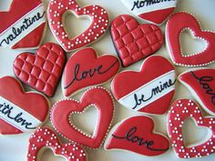 Valentine's Red Hearts