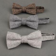 Wool Men's Bow Ties- 12 Styles to Choose from – Stylish Gentlemen Fashion Night, Autumn Fashion, Fashion Tips, Latest Fashion, Mens Wedding Ties, Wedding Gifts, Masculine Style, Gentleman Style, Moda Masculina
