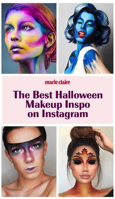 Halloween Makeup Inspo You Need to See Great Halloween Costumes, Cool Halloween Makeup, Halloween Make Up, Halloween Cosplay, Makeup Inspo, Makeup Art, Makeup Tips, Eye Makeup, Witchy Makeup
