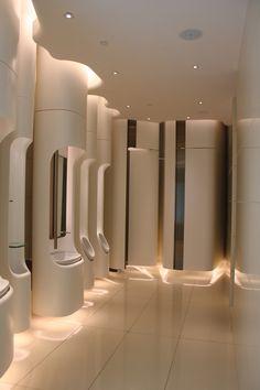 Visions of the Future: Beauty Gallery, Pacific Place, Hong Kong Bathroom Spa, Bathroom Toilets, Bathroom Interior, Modern Bathroom, Washroom, Bad Inspiration, Bathroom Inspiration, Wc Public, Toilette Design