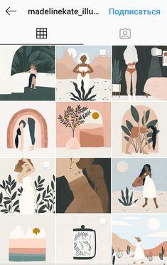 Instagram Feed Layout, Instagram Design, Instagram Blog, 17 Kpop, Instagram Highlight Icons, Digital Illustration, Art Inspo, Line Art, Graphic Art