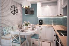 Маленькая кухня: 19 небольших, но прекрасных проектов