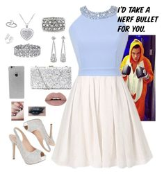 """""""Goofing around with Harry Styles"""" by lrochelle4life on Polyvore featuring Lauren Lorraine, LA: Hearts, Palm Beach Jewelry and Mark Broumand"""
