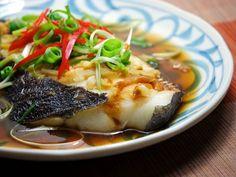 簡單魚料理.清蒸鱈魚