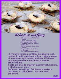 Czech Recipes, Doughnut, Ale, Cookies, Sweet, Advent, Desserts, Food, Crack Crackers
