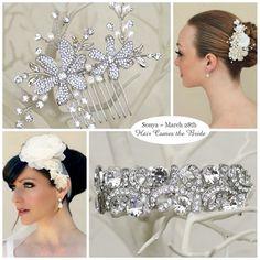 Bridal Accessory Inspiration Board created for Sonya ~ Free Bridal Stylist Service ~ #bride #bridal #wedding #bridalhairaccessories #weddinghairaccessories #bridaljewelry #weddingjewelry #bridalstyle #bridalbeauty #bridalstylist