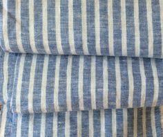"New to CustomLinensHandmade on Etsy: Linen Face Towel 14W""X30L"" available in natural linen natural linen stripe blue linen stripe (15.00 USD)"