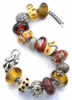 Autumn  This is not my Trollbead bracelet/design, but I like it. cs