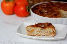 Cuinant: Torta Palmira de Kaki Persimon Banana Bread, Muffin, Favorite Recipes, Breakfast, Desserts, Food, Skewers, Almonds, Crack Cake