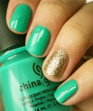 love the color!...super cute for St. Pattys Day!