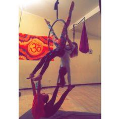 """Nicole Floridia on Instagram: """"Mis niñas hermosas @karenlyon_ @bermelloa y @ariadna2501 en su clase de lira de ayer en @yogacenterplus Jueves 7pm y Sábados 9am previa reservación. Reserva tu cupo para el plan vacacional lleno de sorpresas del 27 al 31 de julio quedan pocos cupos info en @yogacenterplus #aerialhoop#class#proud"""""""