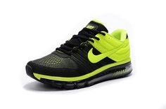 promo code 7f089 150e7 New Style Nike AIR MAX 2017 Men s Running Shoes (black)  (yellow)